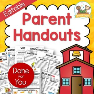 Parent Handouts vol. 1