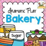 Bakery Dramatic Play Center for Preschool Printable Props for Preschool
