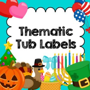Theme Tub Labels