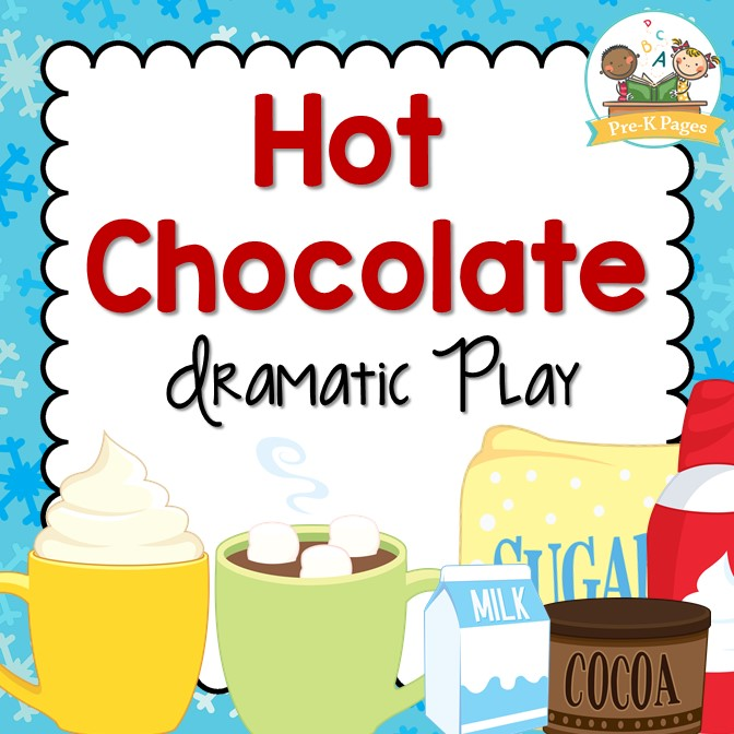 Hot Chocolate Winter Writing