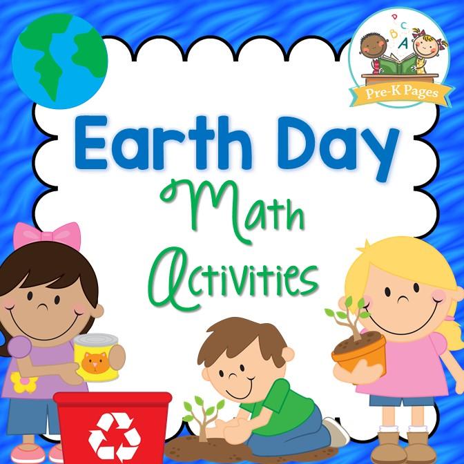 Earth Day Math Activities for Preschool