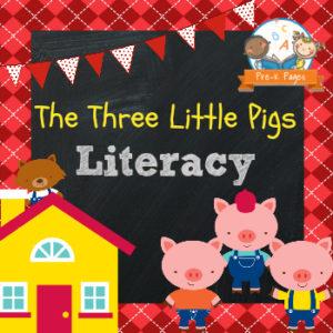 Little Miss Muffet Literacy and Math