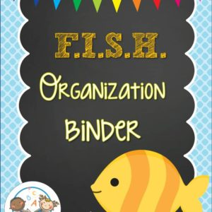 Fish Organization Binder