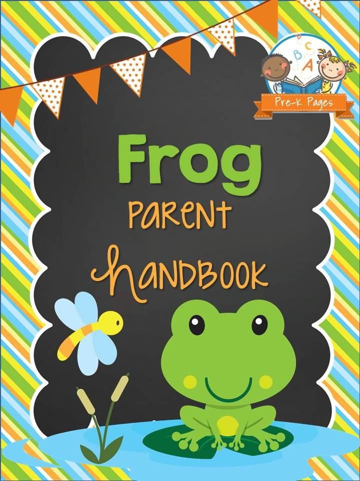 frog parent handbook prek pages