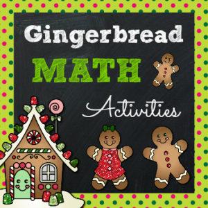 Gingerbread Math