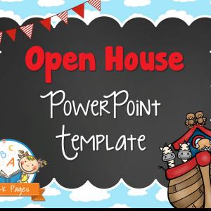 Noah's Ark Open House PowerPoint