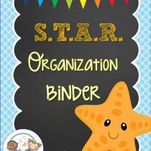 Star Organization Binder