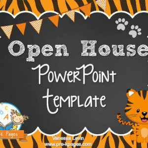 Tiger Open House PowerPoint