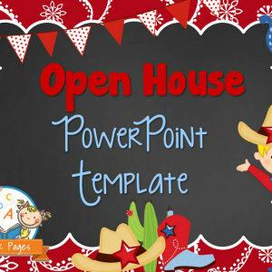 Western Theme Open House PowerPoint